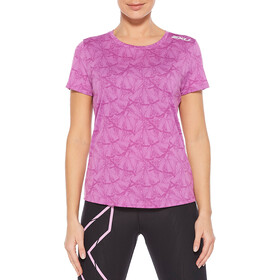 2XU GHST SS Shirt Women, butterfly effect ultra/white reflective